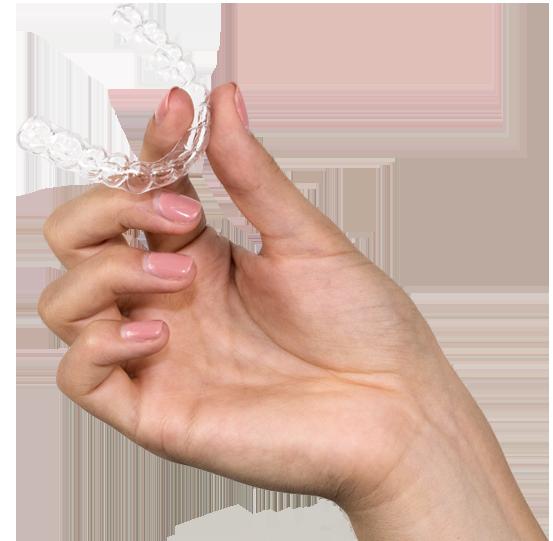 Trattamento ortodontico con mascherine